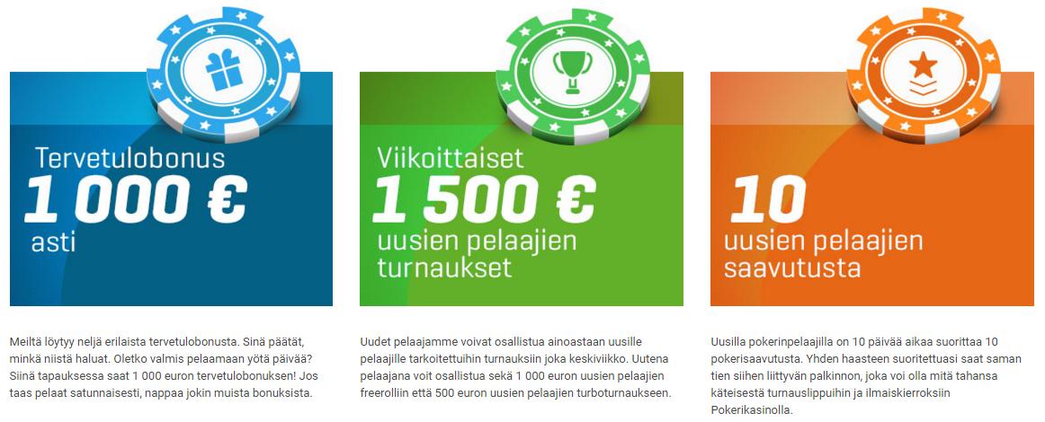 NordicBet tarjoaa mahtavia etuja uusille pokeripelaajille