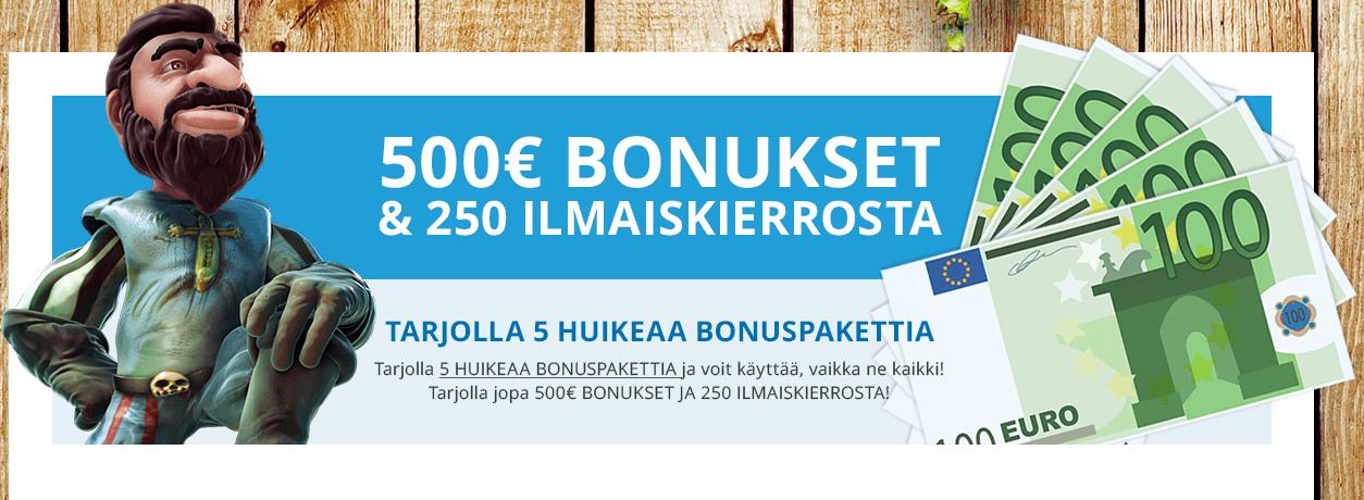 Kotikasino bonus