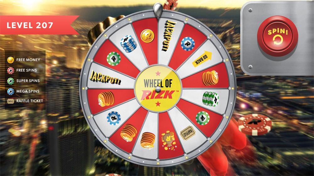 rizk wheel of rizk