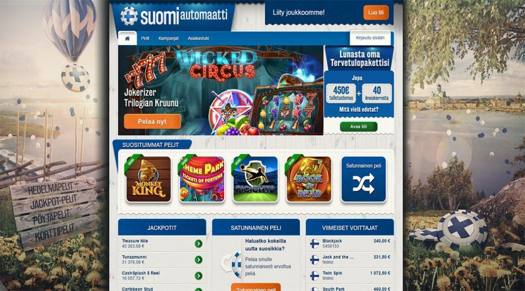 Suomiautomaatti netticasino